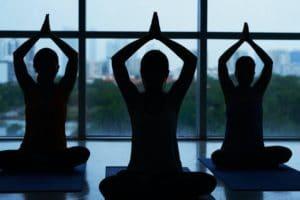 Yoga training